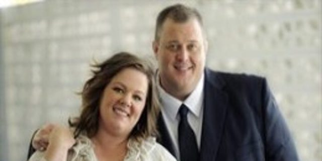 """""""Mike and Molly,"""" starring and Melissa McCarthy and Billy Gardell, prompted a Marie Claire writer to express her disdain for overweight people."""