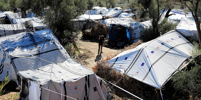 """One of Europe's main solutions to migration — Greece's overcrowded, unsanitary Moria migrant camp — has suicidal children and conditions that a psychiatrist compared to """"an old-fashioned mental asylum."""""""