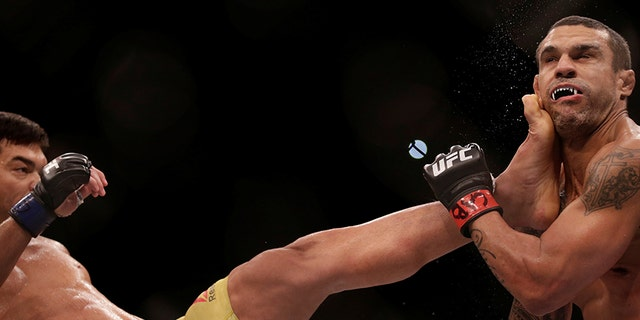 Lyoto Machida knocked out Vitor Belfort at UFC 224.