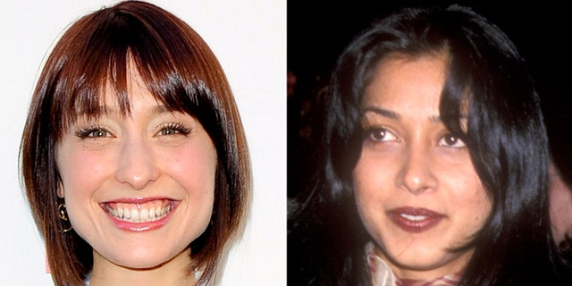 Allison Mack (left) and Samia Shoaib.