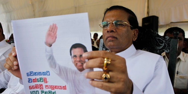 Sri Lankan president Maithripala Sirisena, who has said he will approve the execution of drug traffickers in an attempt to tackle the scourge