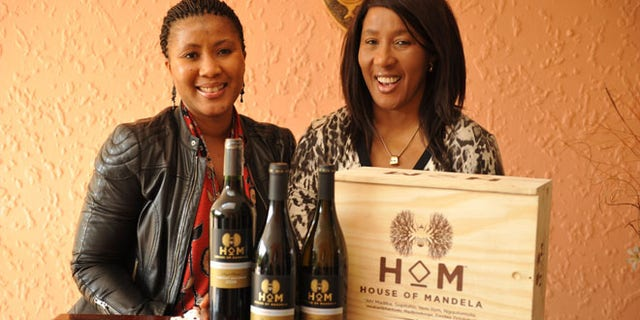 Maki and Tukwini Mandela, daughter and granddaughter of Nelson Mandela, have just launched the House of Mandela wine collection in Miami this week.