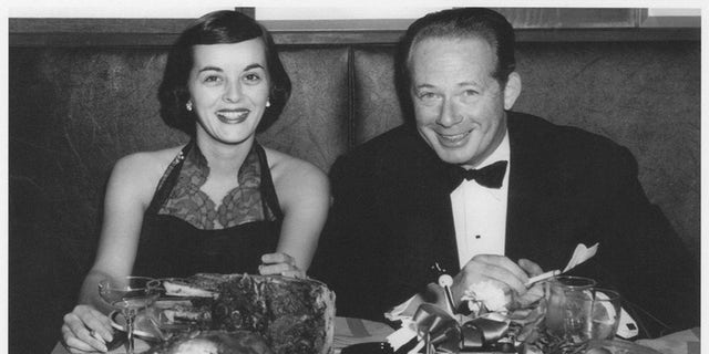 Carolyn Scott Reybold and her husband at the Stork Club.