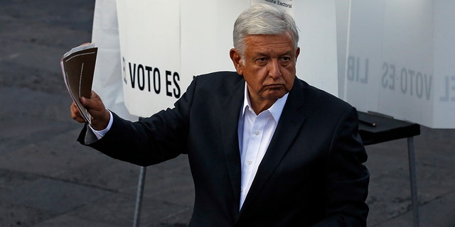 "Andres Manuel Lopez Obrador promised a ""transformation"" for Mexico amid violence and political scandal."