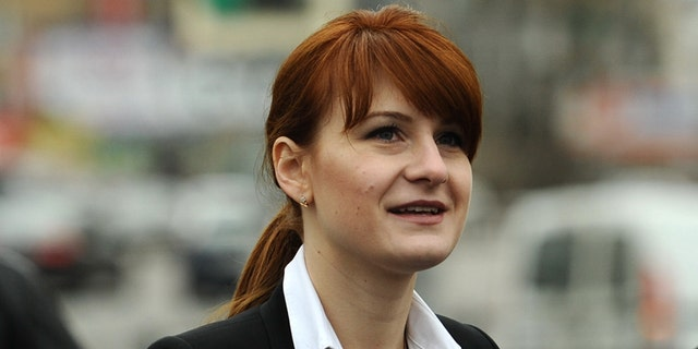 Maria Butina was arrested Sunday on a charge of conspiracy to act as an unregistered agent of the Russian government. (ZUMAPress)