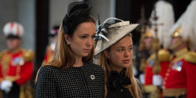 Lady Marina Windsor and Lady Amelia Windsor