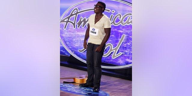 Mario Bonds performs in front of the 'American Idol' judges. Craig Blankenhorn / FOX.
