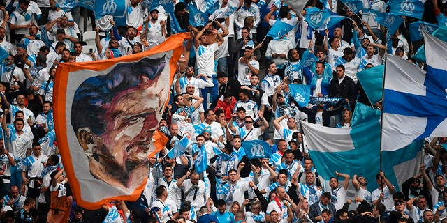 A Marseille fan was able to make a ceremonial goal Sunday.