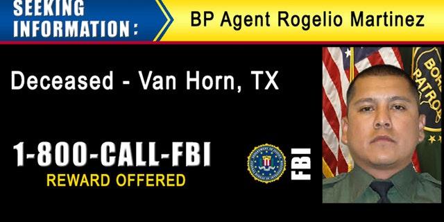 A digital billboard displayed by the FBI seeking information on Martinez.