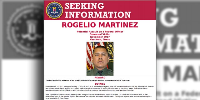 A poster distributed by the FBI asking for information on Martinez, and offering a reward which has since gone up to $50,000