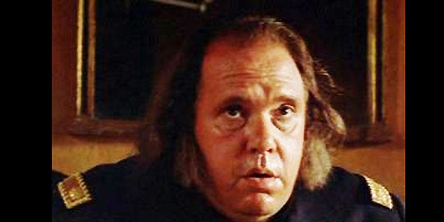 Maury Chaykin is seen in a scene from the film 'Dances With Wolves.' He died Tuesday at the age of 61.
