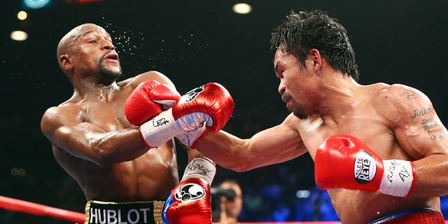 Floyd Mayweather said a rematch between him and Manny Pacquiao was happening this year.