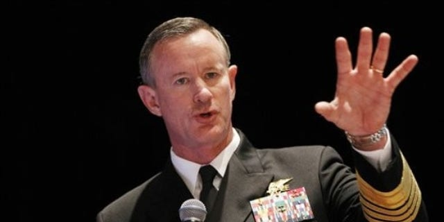 Retired Navy Adm. Bill McRaven was commander of the U.S. Special Operations Command. (AP Photo)