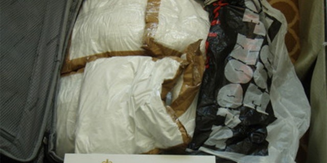 The drugs were estimated to be worth anywhere between $21.5 million and $30 million, making it Australia's largest-ever drug seizure from a boating vessel or aircraft.