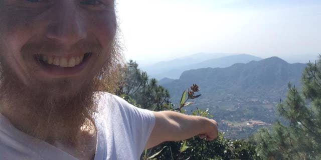 This Dec. 30, 2014 image released by Ad Purkh Kaur, the wife of Hari Simran Singh Khalsa, shows Hari Simran Singh Khalsa in the last selfie he took of himself before going missing while hiking in rugged mountain terrain near the town of Tepoztlan, Mexico. A large search began on the day the 25-year-old northern Virginia man went missing after he went on a day hike wearing only a T-shirt and shorts and carrying little food and water. Ad Purkh Kaur last heard from her husband that afternoon in a text message saying he'd accidentally summited another mountain and would be later than expected. (AP Photo/Courtesy of Ad Purkh Kaur)