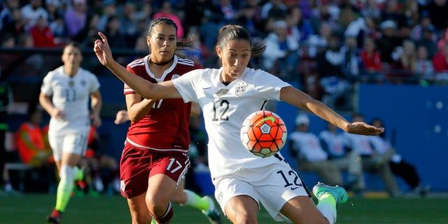 How we can watch a Women's World Cup final. (AP Photo/Tony Gutierrez)