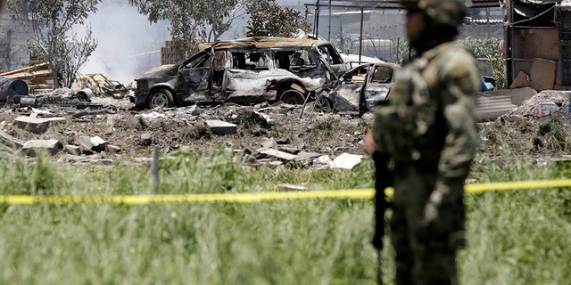 At least eight of those killed were from Tultepec, home to a major fireworks industry.