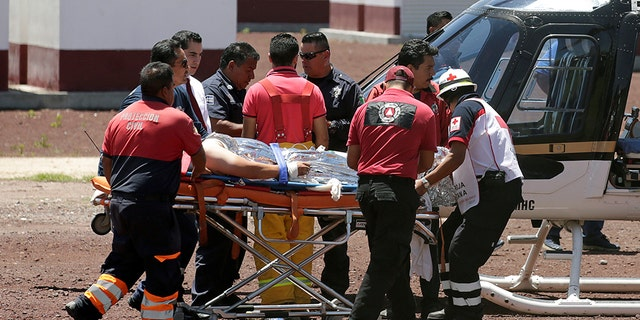 Four firefighters and two police officers who responded to the explosion at the fireworks workshop in Tultepec, located roughly 25 miles north of Mexico City, were among those killed by a second blast.