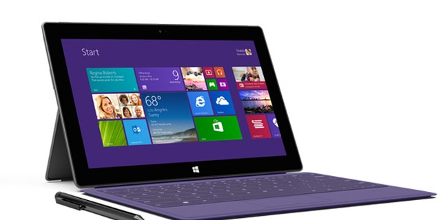 The new lineup of Surface tablets from Microsoft.