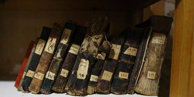 Ancient Christian manuscripts located in the Middle East