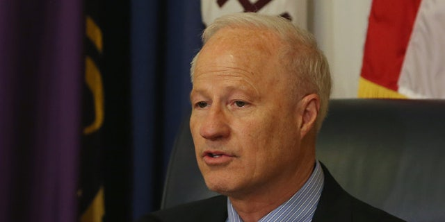 Mike Coffman, R-Color., is carefully trying to show Coloradans that he isn't too cozy with the president – who lost this district in 2016.