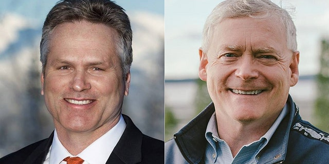 Former state Sen. Mike Dunleavy and former Alaska Lt. Gov. Mead Treadwell are leading the Republicans vying for the gubernatorial nomination.