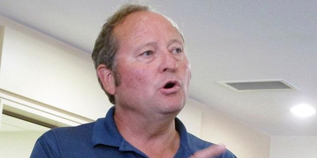 FILE: Aug. 30, 2012: Former Montana Gov. Brian Schweitzer, a Democrat,  in Helena, Mont.