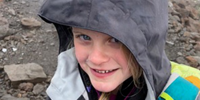 Despite snow and rain through their entire hike, Montannah never complained.