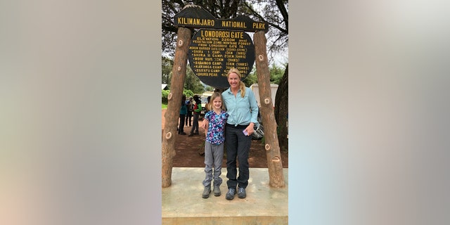 The mother-daughter pair planned the trip in a month-and-a-half.