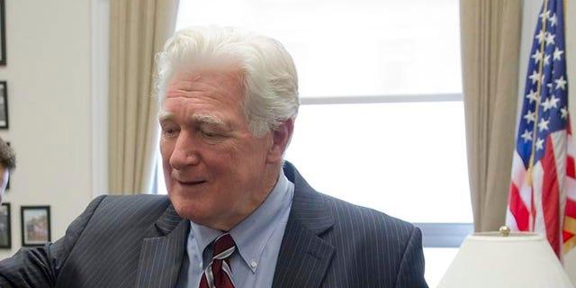 FILE: January 15, 2014: Rep. Jim Moran, D-Va., in his office on Capitol Hill in Washington, D.C.