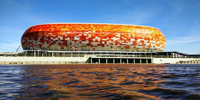 Mordovia Arena in Saransk, Russia.