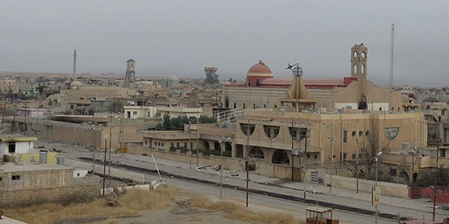 The Church of the Immaculate in Qaraqosh—a city where many Assyrian Christians resided before ISIS forces drove them out.