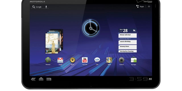 At the 2011 CES, Verizon Wireless and Motorola unveiled the Motorola XOOM, a new tablet that some are calling serious competition for the iPad.