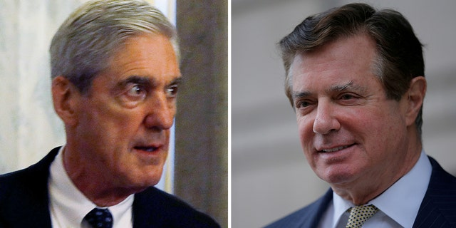 "Special Counsel Robert Mueller, left, and his team say Manafort, right, has ""unique privileges"" in jail."