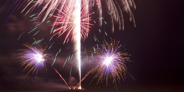 You won't have to wait until the Fourth to watch fireworks at Myrtle Beach.