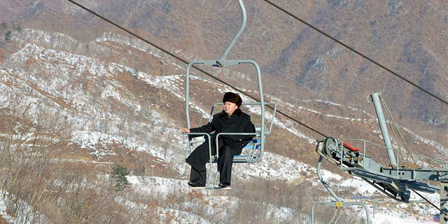 Supreme Leader Kim Jong Un famously rode the ski lift, without skies, when touting his resort.