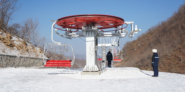 The Masikryong ski resort is reportedly far too expensive for locals.