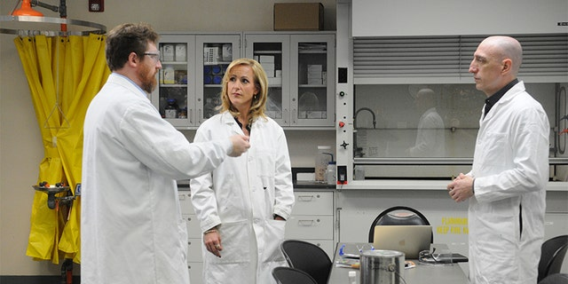 Jim Clemente (right) and Laura Richards consulted with Dr. Kenyon Evans-Nguyen, a professor of chemistry and forensic toxicology at the University of Tampa. They concluded it's very unlikely Casey Anthony could have made her own chloroform successfully due to its complicated recipe.