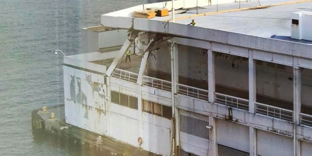 "Carnival spokesman Vance Gulliksen told The Post that ""the impact to the bow of the ship was minor."""