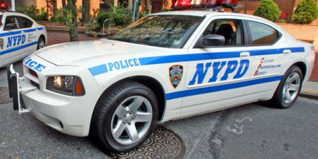 A NYPD car.