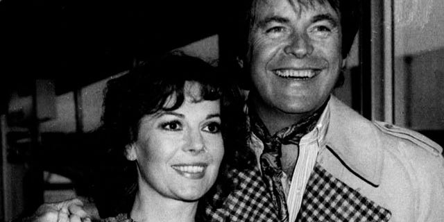 This April 1980 photo shows Hollywood film star, Natalie Wood, with her actor husband, Robert Wagner, in Los Angeles.