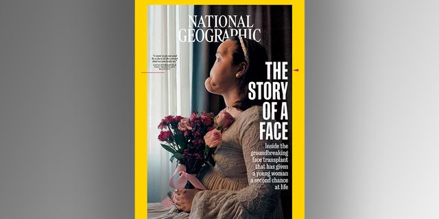 """Stubblefield is featured in National Geographic's September cover article, """"The Story of a Face."""""""