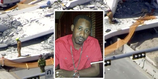 """Navaro Brown, a worker with Structural Technologies VSL, was killed Thursday after the """"Instant Bridge"""" collapsed near the Florida International University campus."""