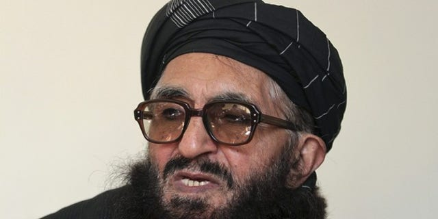 January 26, 2012: Former Taliban minister Maulvi Arsala Rahmani, a member of the High Peace Council set up by President Hamid Karzai two years ago to liaise with insurgents, speaks during an interview in Kabul.