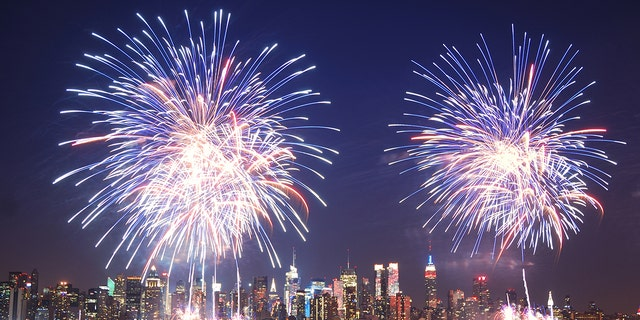 NYC will be launching fireworks from seven — yes, seven — barges in the East River.