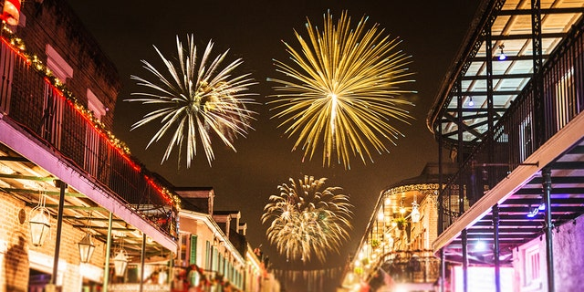 New Orleans has steamboat cruises that offer views of the city's fireworks display.