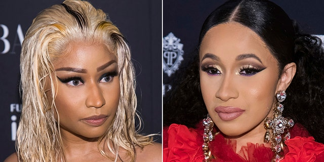 Christina Aguilera missed Cardi B and Nicki Minaj brawl because she was performing her song 'Fighter' at the annual at the Harper's BAZAAR ICONS party.