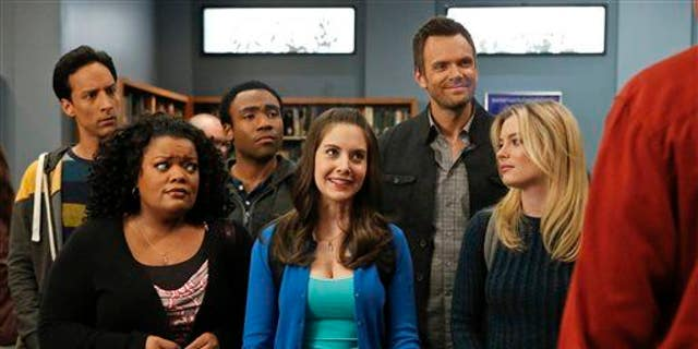 The cast of 'Community.'
