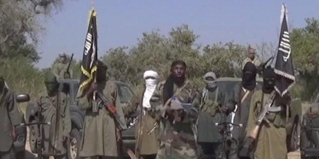 Oct. 31, 2014 - FILE photo of members of Nigeria's Islamic extremist group Boko Haram.