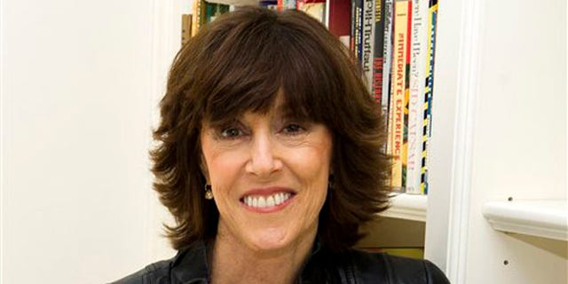 Nov. 3, 2010: In this file photo shows author, screenwriter and director Nora Ephron at her home in New York.